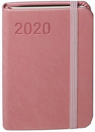 Kalendarz 2020 Awangarda A7 j.różowa TDW ANTRA