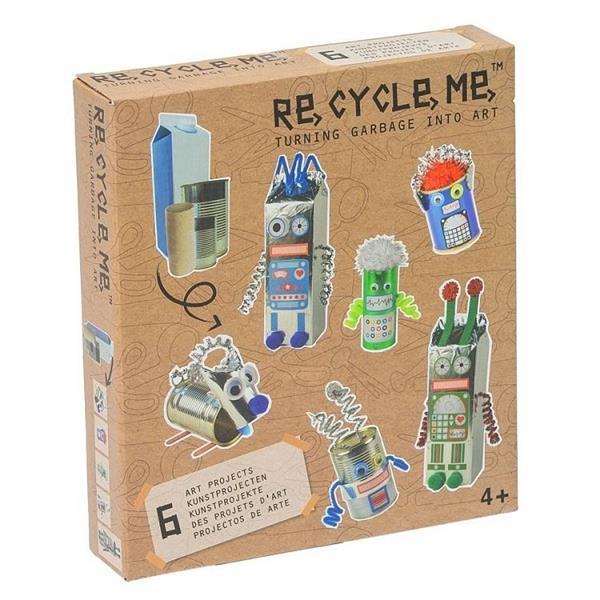 Zestaw Kreatywny. Roboty - 6 zabawek