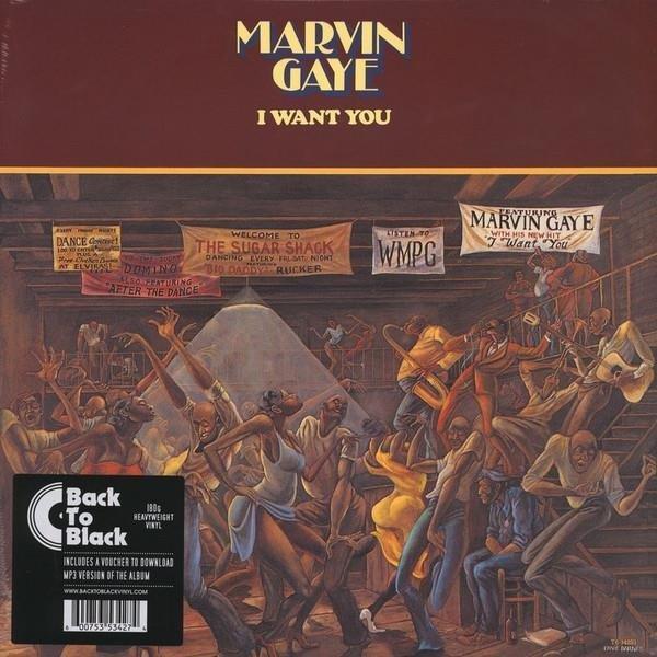 PŁYTA WINYLOWA MARVIN GAYE I WANT YOU LP