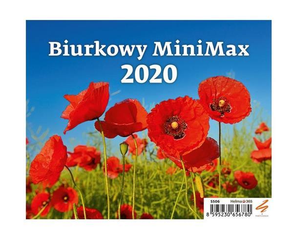 Kalendarz 2020 Biurkowy MiniMax NARCISSUS