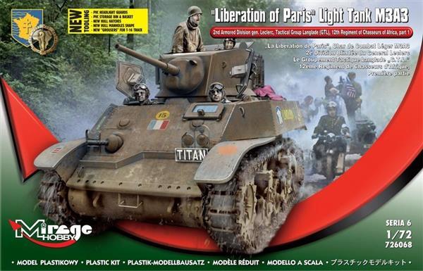 Czołg Lekki M3A3 Wyzwolenie Paryża