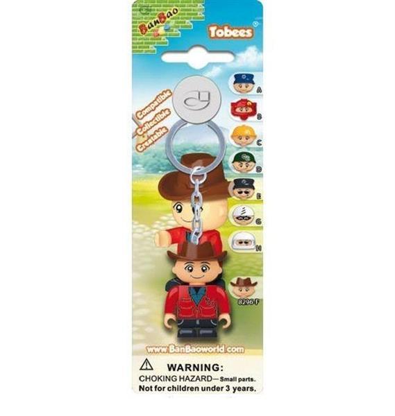 Breloczek - figurka BanBao Farmer