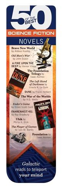 50 BEST - Science Fiction - magnetyczna zakładka d
