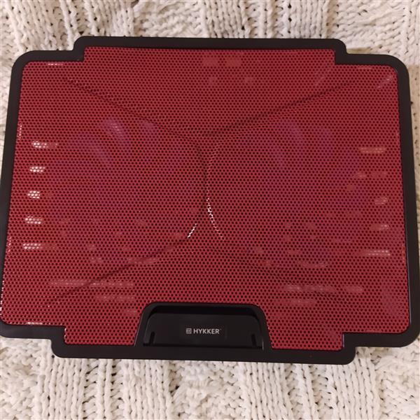Podkładka chłodząca pod laptopa czerwona