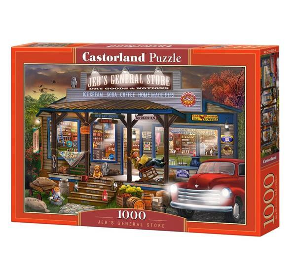 Puzzle 1000 Jeb's general store CASTOR