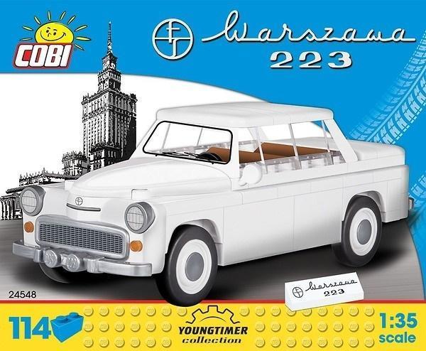 Cars Warszawa 223 114 klocków