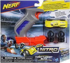 NERF Nitro Throttleshot szara