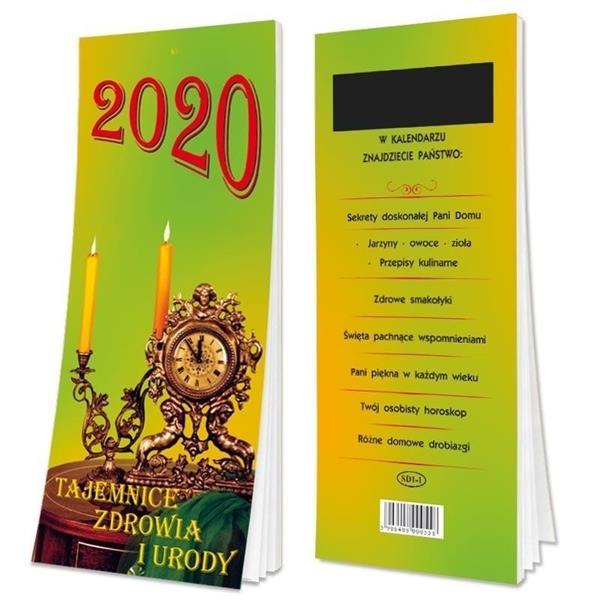 Kalendarz 2020 Tygodniowy z magnesem SD1-1