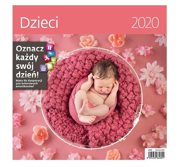Kalendarz 2020 Dzieci 30x30cm NARCISSUS