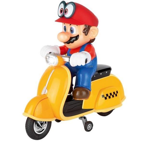 Carrera RC Super Mario Odyssey Scooter Mario