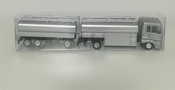 Auto - American truck srebrny