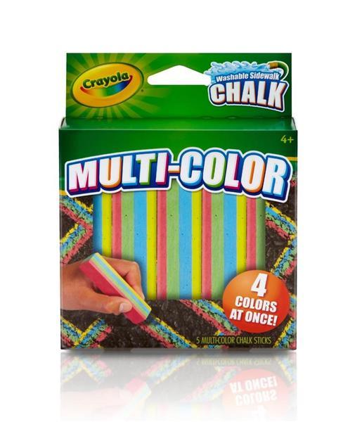 Kreda chodnikowa multikolorowa 5 kolorów CRAYOLA