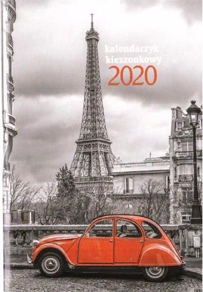 Kalendarz 2020 KK-1 Kieszonkowy MIX AVANTI