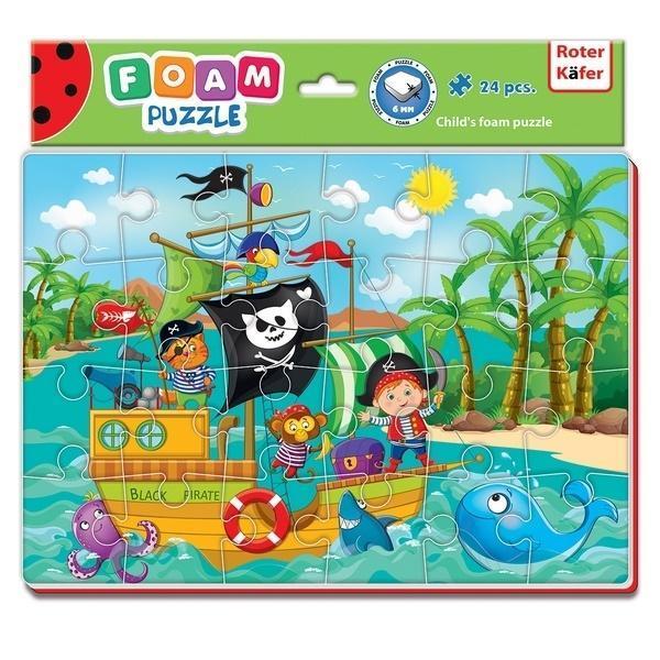 Miękkie puzzle A4 Śmieszne zdjęcia Piraci