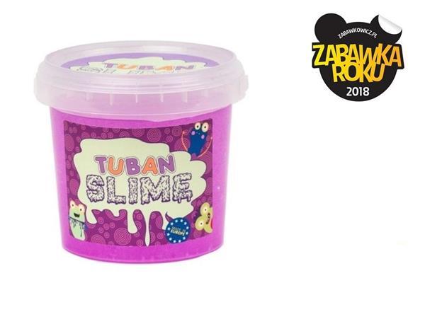 Slime brokat neon fioletowy 1kg TUBAN