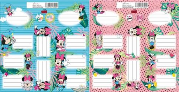 Naklejki na zeszyty Minnie Mouse