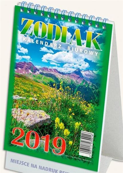 Kalendarz 2019 Biurowy Zodiak TELEGRAPH