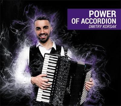 Dmitry Korsak - Power of Accordion CD
