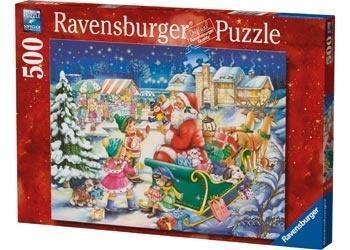 Puzzle 500 Magia Świąt