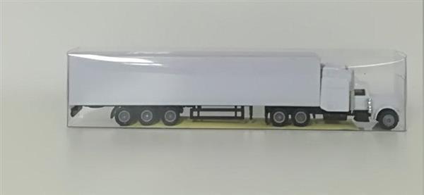 Auto - American truck biały