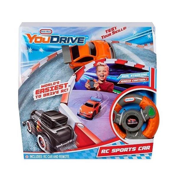 YouDrive - Pomarańczowo/szary samochód sportowy