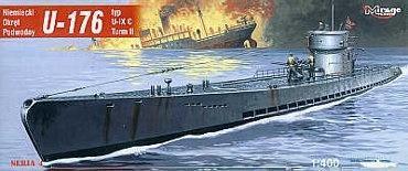 Niemiecki Okręt Podwodny U-Boot U-176 - IX C
