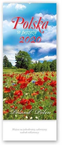 Kalendarz 2020 Czterodzielny Polska w pejzażu TW1