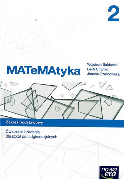 MATeMAtyka 2. Ćwiczenia i zadania dla szkół ponadg