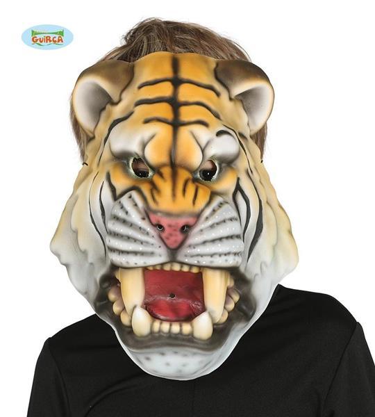 Dziecięca maska z pianki-Tygrys