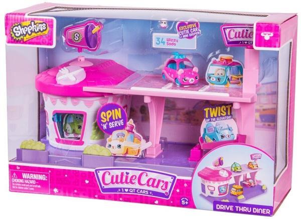 Shopkins Cutie Cars zestaw