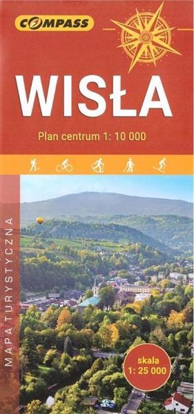 Mapa turystyczna - Wisła 1:25 000