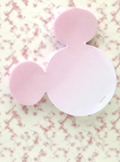 Karteczki samoprzylepne - Myszka Miki różowe