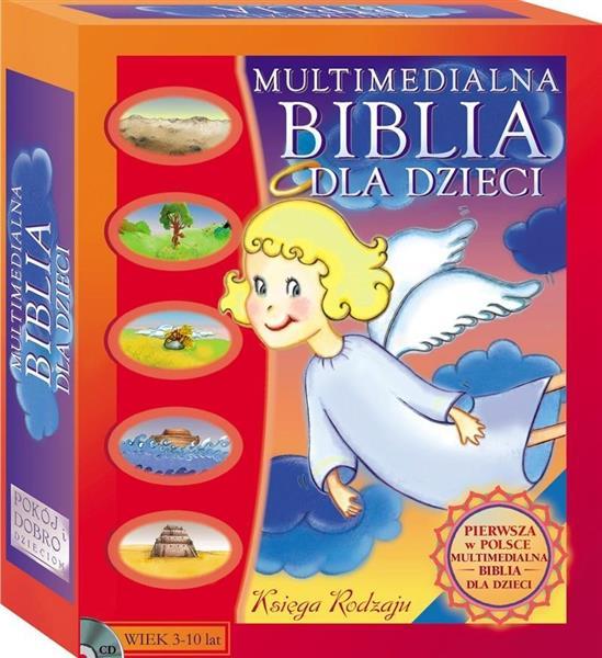 Multimedialna Biblia dla Dzieci. Księga Rodzaju CD