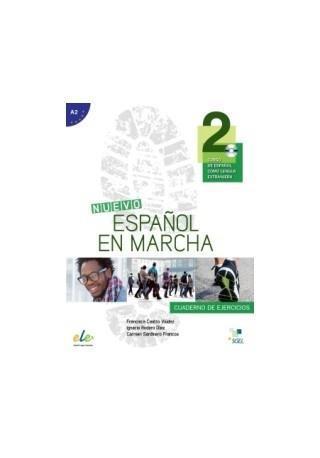 Nuevo Espanol en marcha 2 ćwiczenia + CD audio