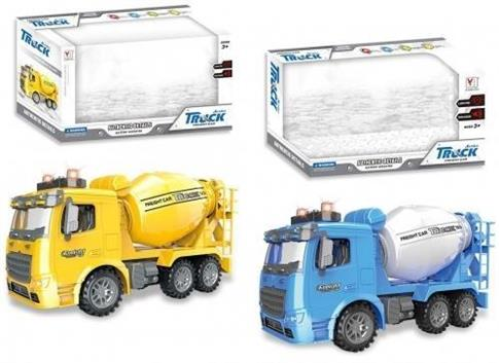 Auto ciężarowe betoniarka światło/dźwięk