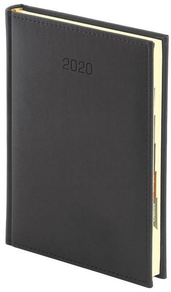 Kalendarz 2020 A4 Tygodniowy Vivella Czarny