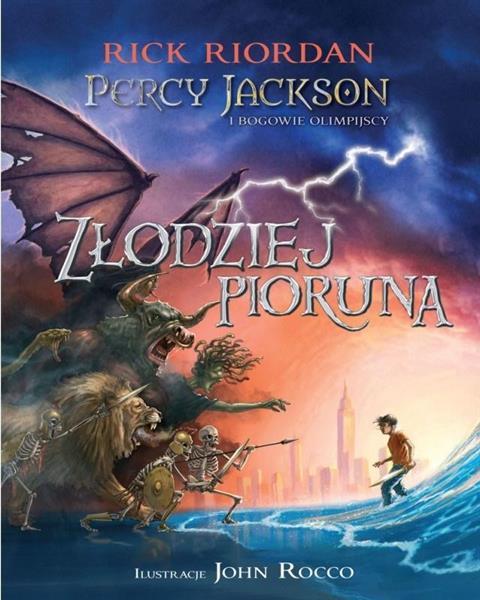 Percy Jackson i bogowie - T1 Złodziej pioruna TW