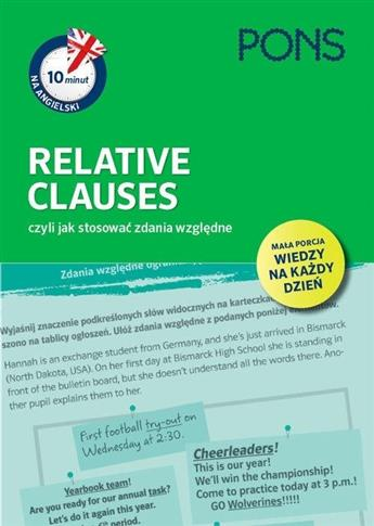 10 minut na angielski. Relative Clauses PONS