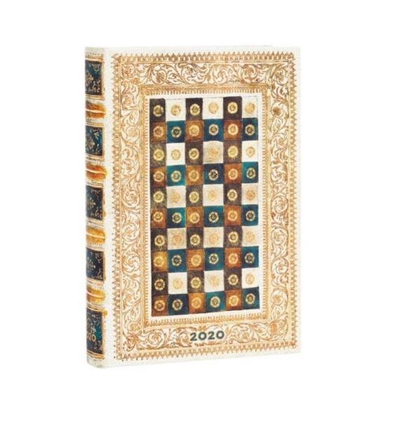Kalendarz książkowy mini 2020 12M Aureo