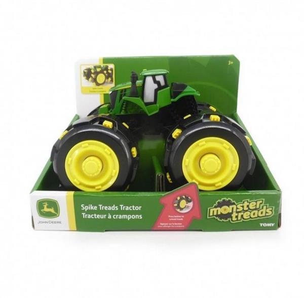 John Deere traktor opony z kolcami TOMY