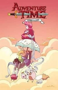 Adventure Time. Fionna and Cake
