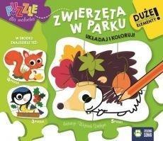 Puzzle dla malucha. Zwierzęta w parku outlet