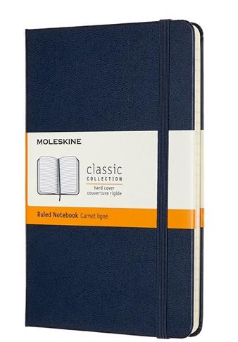 Notes Classic 11,5x18 tw. linie sapphire blue