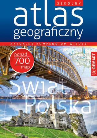 Szkolny atlas geograficzny-39242
