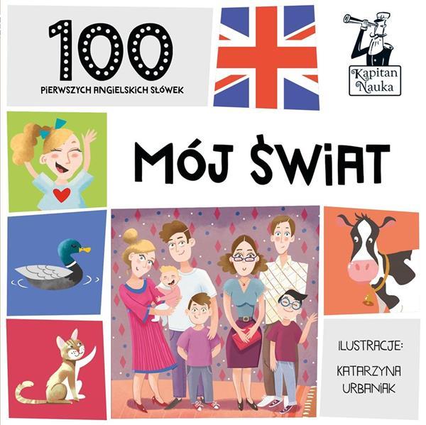100 pierwszych angielskich słówek. Mój świat-319413