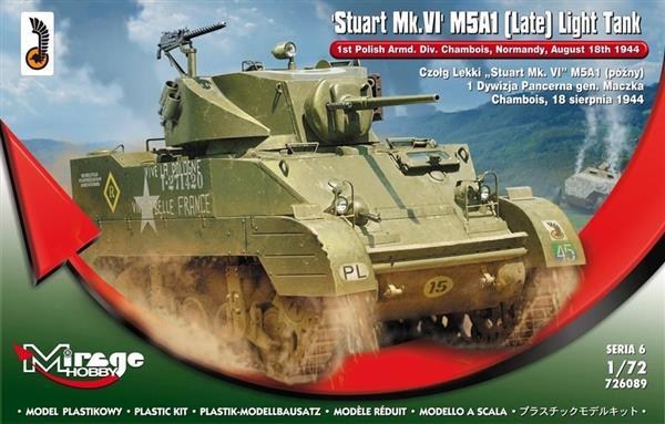 Czołg Lekki Stuart Mk.VI M5A1 późny-304401