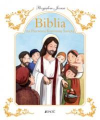 BIBLIA NA I KOMUNIĘ ŚW. PRZYJĄŁEM JEZUSA outlet-2057