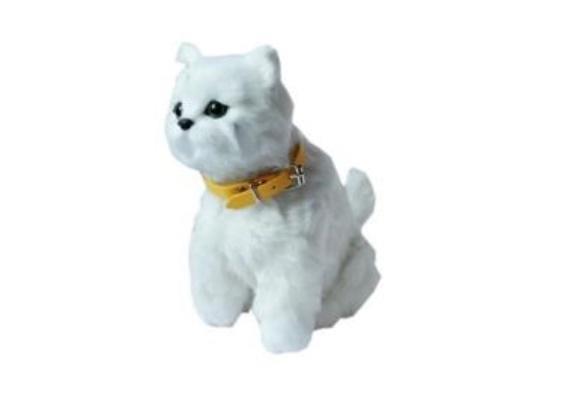 Interaktywny kotek biały