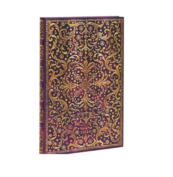 Kalendarz książkowy maxi 2020 12M hor. Aurelia