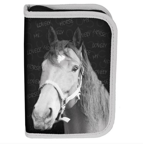 Piórnik b.w. Horse PP19KO-001BW PASO